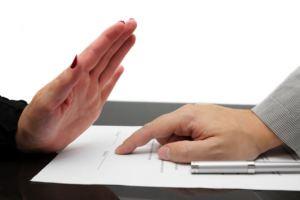 Возможность отказа в предоставлении кредита
