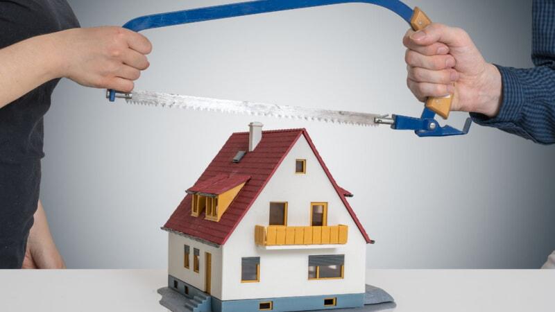Порядок деления ипотеки