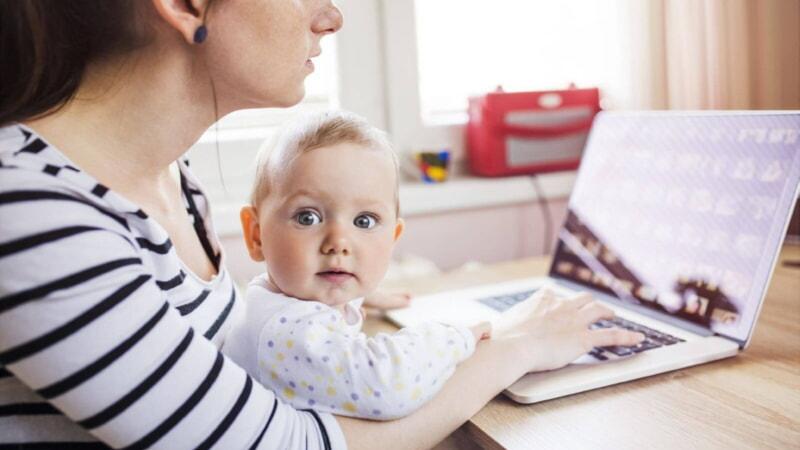 Расчёт суммы пособия по уходу за ребёнком