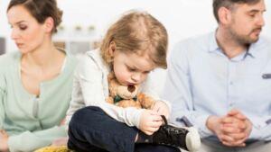 Официальный развод и дети