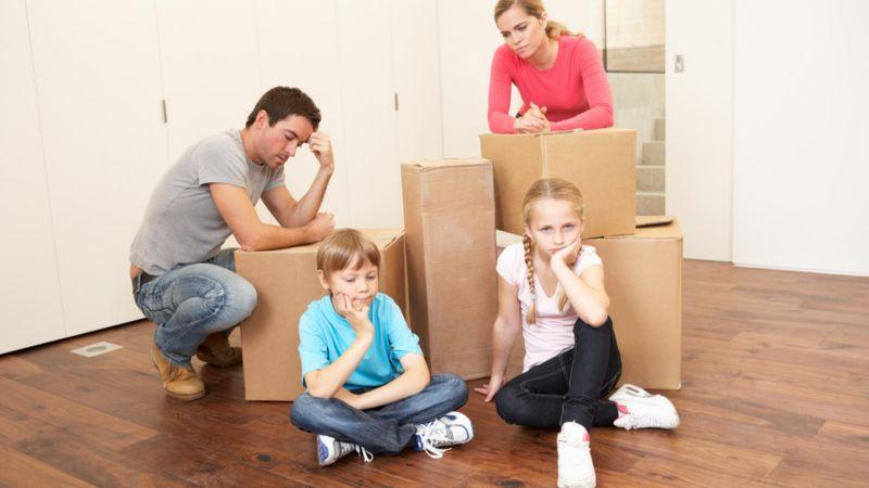 Установление места проживания детей